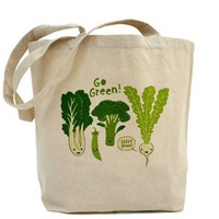Go Green! Tote Bag - CafePress