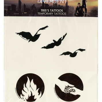 Divergent Tris Temporary Tattoos