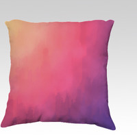 Watercolors Fun III by Texnotropio (18x18 pillow)