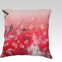 Musicalities by Texnotropio (18x18 pillow)