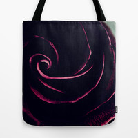 plumberry swirl Tote Bag by ingz