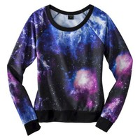 Junior's Galactic Graphic Sweatshirt