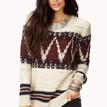 Festive Folk Sweater