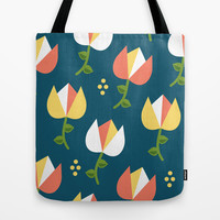 Floral Pattern 3 Tote Bag by mollykd