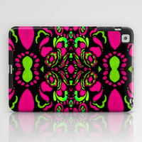 Psychedelic Retro Ornament Design iPad Case by Danflcreativo