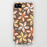 Floral Pattern 1 iPhone & iPod Case by mollykd