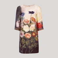 Multicolor Anemone Print Pap Dress: $1,595, Stella McCartney | Lonnymag.com