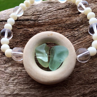 Sea Glass Beach Bracelet