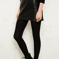 Vintage Renewal Leather Miniskirt - Urban Outfitters