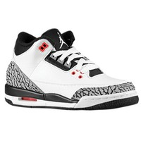 Jordan Retro 3 - Boys' Grade School