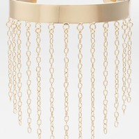 South Sun Chain Fringed Arm Cuff (Juniors) (Online Only) | Nordstrom