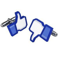 LIKEable Social Cufflinks