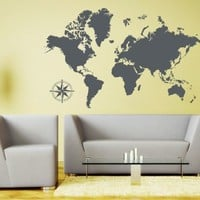 Style & Apply 3712 Detailed World Map