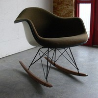Herman Miller Eames Arm Chair Rocker by CoMod on Etsy