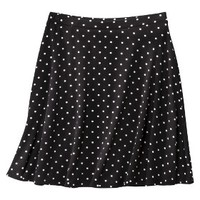 Xhilaration® Junior's Knit Skirt - Black