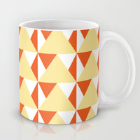 Geometric Pattern 3-Yellow Mug by mollykd