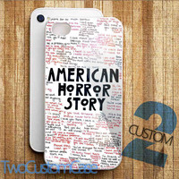American Horror Story Quotes - iPhone 4/4S, 5/5S, 5C Case and Samsung Galaxy S3, S4 Case.