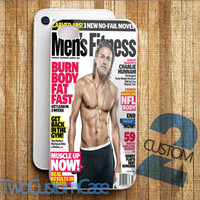 Charlie Hunnam - iPhone 4/4S, 5/5S, 5C Case and Samsung Galaxy S3, S4 Case.