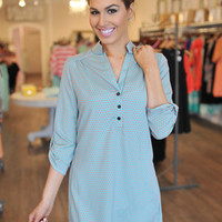 DAISY TUNIC DRESS- MINT