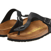 Birkenstock Gizeh Oiled Leather Black Oiled Leather - Zappos.com Free Shipping BOTH Ways