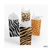Zoo Animal Print Goody Bags