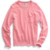 Washed Pink Pocket Sweatshirt