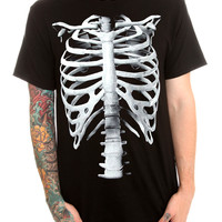 Ribs Black T-Shirt