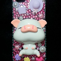 3D Kawaii Piggy Bling Bling Iphone 5 / 5S Case