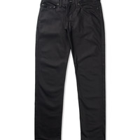 Black Selvedge Chino Weirdguy Jeans
