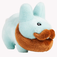 Relatively Hip Bearded Happy Labbit Blue 14 inch | Kidrobot