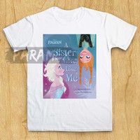 disney frozen anna and elsa t shirt paramex