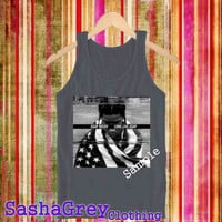 ASAP Rocky Comme White _ Tank Top Men's Size S - XXL Design By : sashagreystore