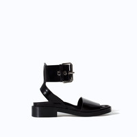 BIO WITH ANKLE STRAP AND BUCKLE