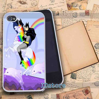 Batman riding Robot Unicorn _ iphone 4/4s,5/5s,5c samsung s3,s4 Case Design By : IDstore.
