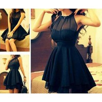 Mesh front Cute Slim Dress for Women DP0310