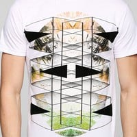 Triangles & Nature Tee - Urban Outfitters