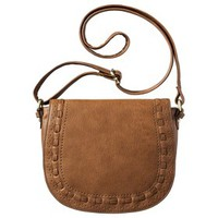 Merona® Perforated Weave Crossbody Handbag - Tan