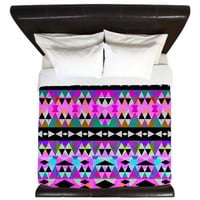 Tribal King Duvet Cover - Mix #551 - Ornaart Design