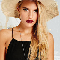 Natural Oversized Straw Floppy Hat - Urban Outfitters