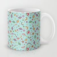 Small flowers Mug by Juliagrifol designs