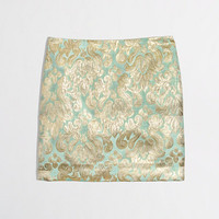 Factory metallic brocade mini - Skirts - FactoryWomen's New Arrivals - J.Crew Factory