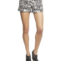 Tribal Smocked Waist Short | Wet Seal