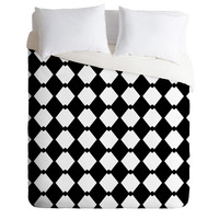 Lisa Argyropoulos Harlequin Diamonds Duvet Cover