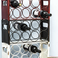Wine, Two, Three Wine Rack | Mod Retro Vintage Decor Accessories | ModCloth.com