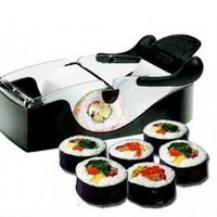 niceEshop(TM) Easy Perfect Roll Maker Sushi Magic Cutter Roller Rice Mold by Yourself-Black