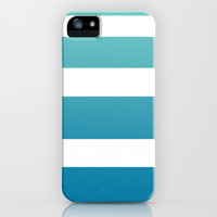 Ombre Surfer Stripe iPhone & iPod Case by Color and Form