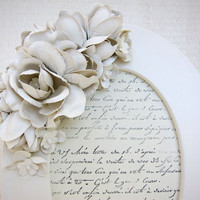 Shabby Chic Paris Chic White Picture Frame Cottage by ShopOnALark
