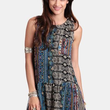 Wild At Heart Drop Waist Dress | Threadsence