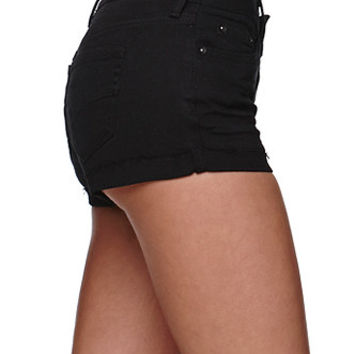 Bullhead Denim Co Low Rise Single Roll Shorts at PacSun.com
