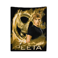 "The Hunger Games Fleece Throw - Peeta - NECA - Toys ""R"" Us"